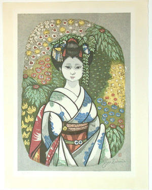 Sekino Junichiro: Maiko - Japanese Art Open Database