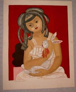 Sekino Junichiro: My Daughter - Japanese Art Open Database