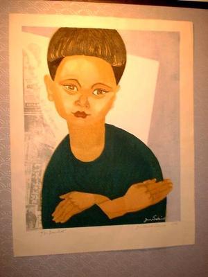 Sekino Junichiro: My Son - Japanese Art Open Database
