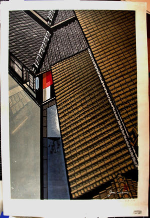 Sekino Junichiro: Twilight in Kyoto - Japanese Art Open Database