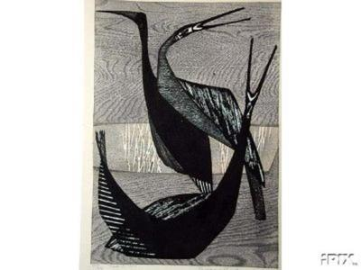 Shima Tamami — 島 珠実: Bird B - Japanese Art Open Database