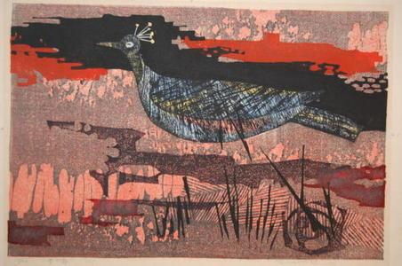 Shima Tamami — 島 珠実: Blue Bird — 青い鳥 - Japanese Art Open Database