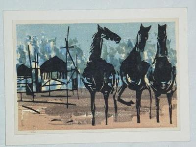 Shima Tamami — 島 珠実: Playing with Horses - Japanese Art Open Database