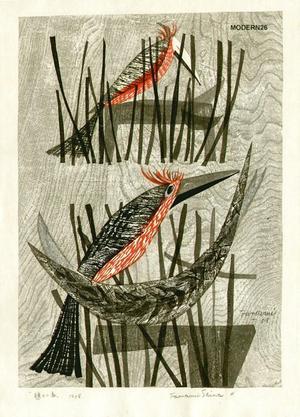 Shima Tamami — 島 珠実: Resting Bird - Japanese Art Open Database