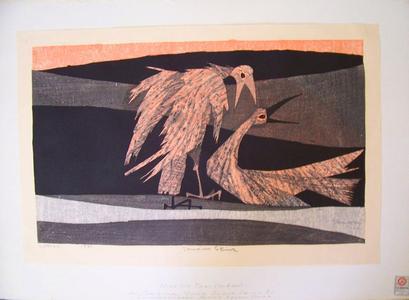 Shima Tamami — 島 珠実: Two Birds - Japanese Art Open Database