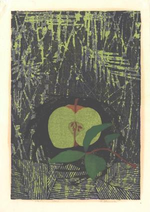 Shima Tamami — 島 珠実: Unknown, Apple and Leaf - Japanese Art Open Database