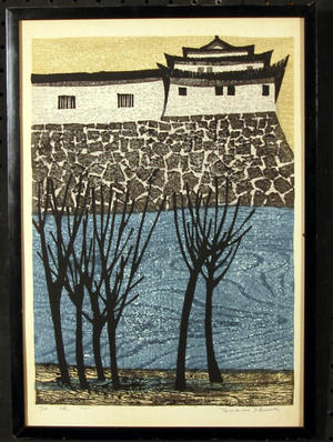 Shima Tamami — 島 珠実: Unknown- Castle - Japanese Art Open Database