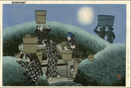 伊東深水: After the Rain - Japanese Art Open Database