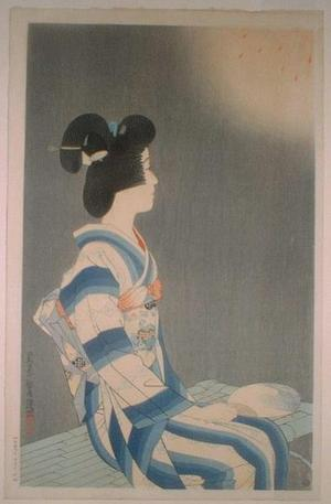 伊東深水: Fireworks - Japanese Art Open Database