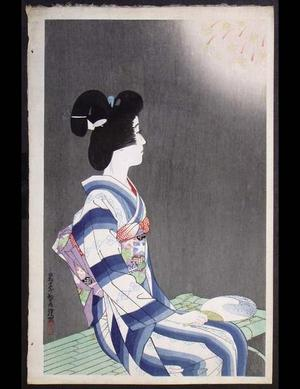 Ito Shinsui: Fireworks - Japanese Art Open Database