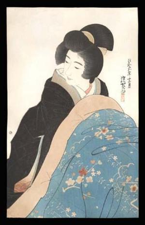 Ito Shinsui: Kotatsu - Japanese Art Open Database
