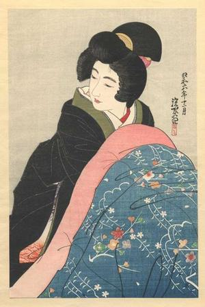 Ito Shinsui: Kotatsu - Japanese Art Open Database