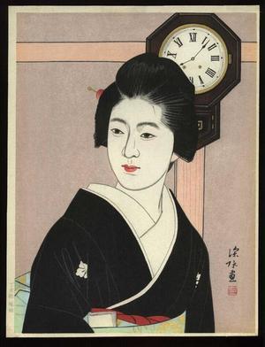 Ito Shinsui: Bonbon Clock - Japanese Art Open Database