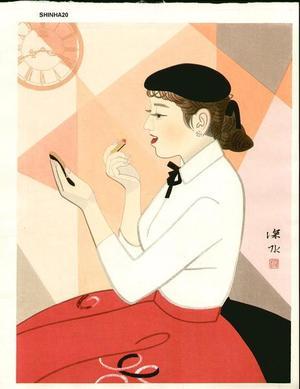 Ito Shinsui: Clock and Beauty IV - Japanese Art Open Database