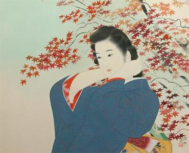 Ito Shinsui: Endless Autumn — 綿秋 - Japanese Art Open Database
