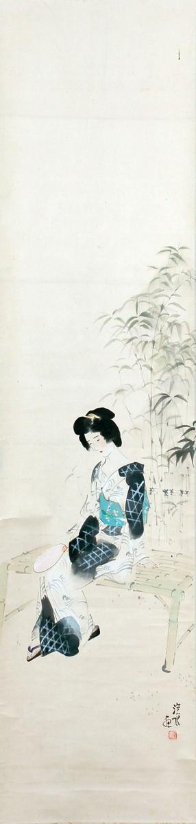 Ito Shinsui: Evening Cool — 涼宵 - Japanese Art Open Database