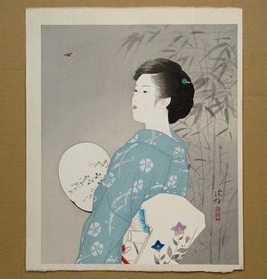Ito Shinsui: Hotaru- Firefly — 蛍 - Japanese Art Open Database