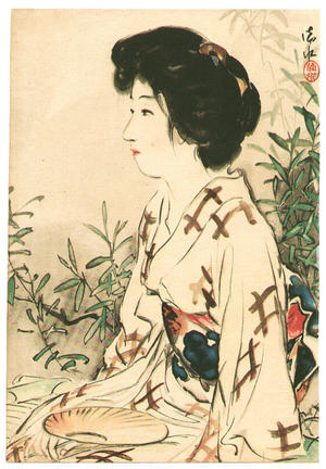 Ito Shinsui: Lady in Summer - Japanese Art Open Database