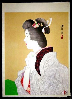 Ito Shinsui: Spring — 春 - Japanese Art Open Database