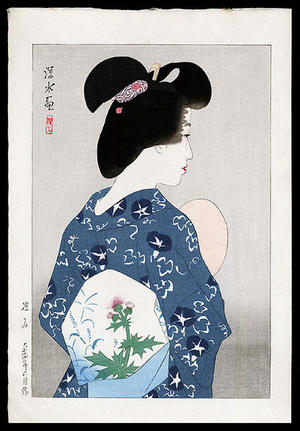 Ito Shinsui: Suzumi- Evening Cool — 涼み - Japanese Art Open Database