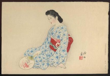 伊東深水: Yamato Nadeshiko - Japanese Art Open Database