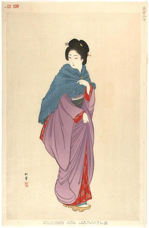 Shodo Yukawa: Geisha in Tokyo in 1901-1902 - Japanese Art Open Database