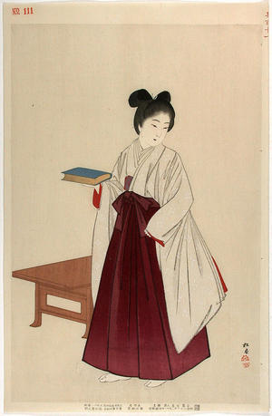 Shodo Yukawa: Noble woman of the Meji period - Japanese Art Open Database