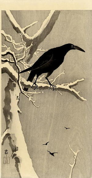 Shoson Ohara: Jungle Crow - Japanese Art Open Database
