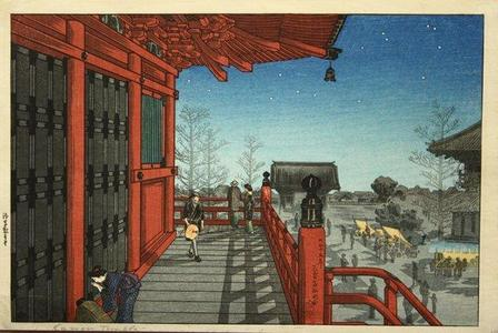 Shotei Takahashi: Asakusa Kannon Temple - Japanese Art Open Database