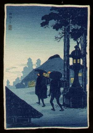 Shotei Takahashi: Evening Silhouette - Japanese Art Open Database