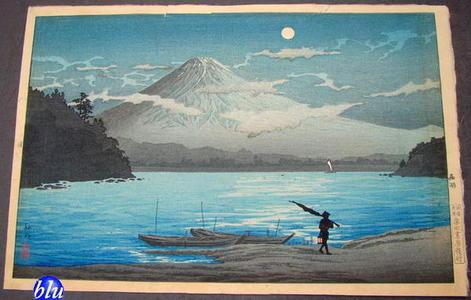 Shotei Takahashi: Fuji From Lake Sai - Japanese Art Open Database