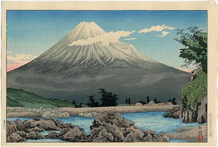 Shotei Takahashi: Fuji River — 富士川 - Japanese Art Open Database
