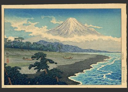 Shotei Takahashi: Fuji from Miho no Matsubara - Japanese Art Open Database
