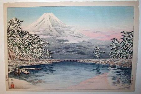 Shotei Takahashi: Fuji in Snow - Japanese Art Open Database