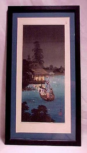 Shotei Takahashi: Hunting Fireflies in Cool Breeze - Japanese Art Open Database
