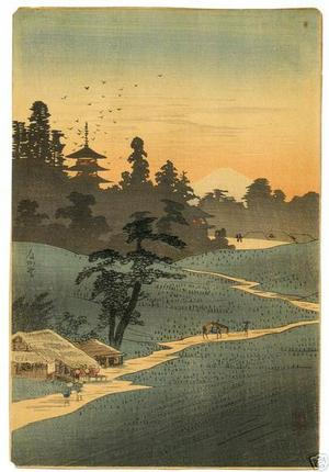 Shotei Takahashi: K1- Path to Fuji - Japanese Art Open Database