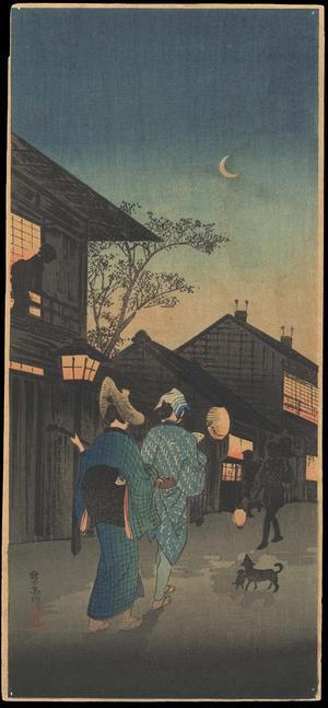 Shotei Takahashi: K8 Evening at Shinagawa - Japanese Art Open Database