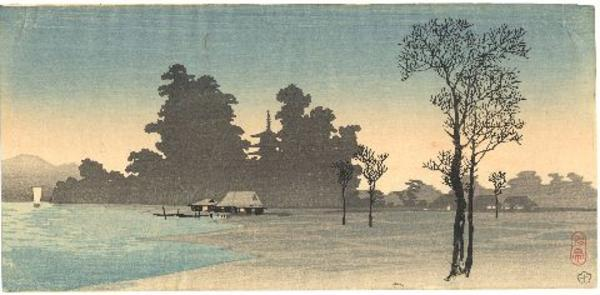 Shotei Takahashi: S4- House on the river - Japanese Art Open Database