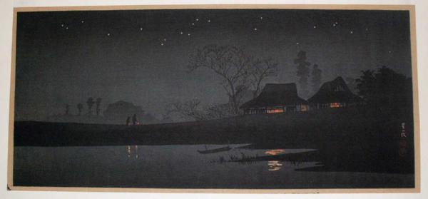 Shotei Takahashi: Starlight night - Japanese Art Open Database