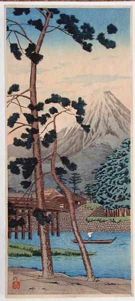 Shotei Takahashi: Tagonoura - Japanese Art Open Database