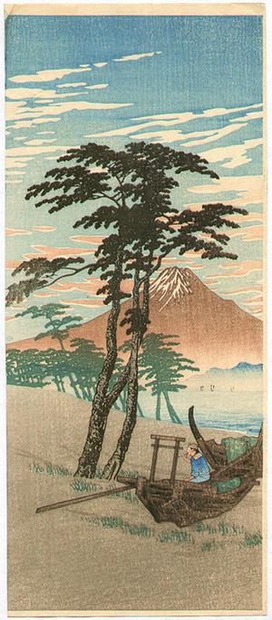Shotei fake: Mt Fuji from Miho - Japanese Art Open Database