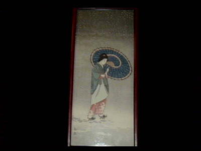 Shotei fake: Unknown- Snow and Bijin - Japanese Art Open Database