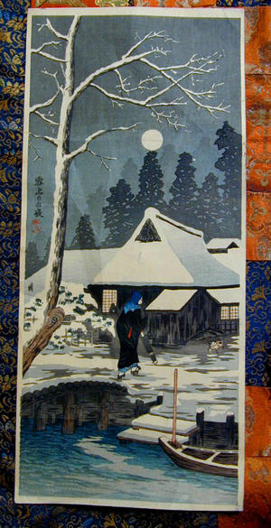 Shotei fake: Yukitori No Yoru - Japanese Art Open Database