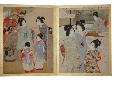 山本昇雲: Print 2 and 3 - Japanese Art Open Database