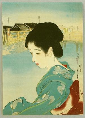 Shuho Yamakawa: A beauty in Shintomi-cho district - Japanese Art Open Database
