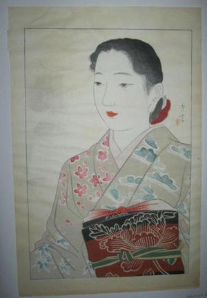 Shuho Yamakawa: Modern Musume - Japanese Art Open Database