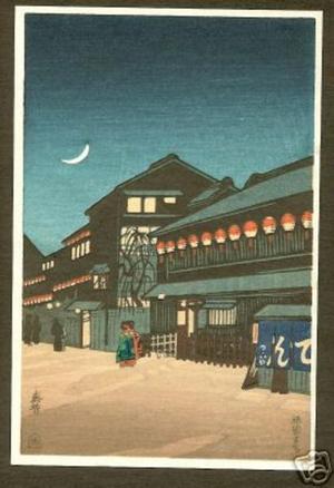 Shunho: Souemon-cho, Osaka- PC - Japanese Art Open Database