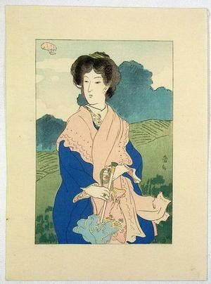 Natori Shunsen: Foundation Stone- Kuchie 1 - Japanese Art Open Database