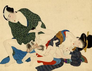 宮川春汀: Shunga 2 - Japanese Art Open Database