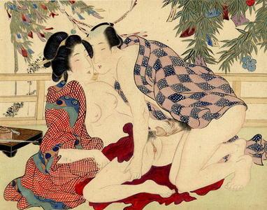 宮川春汀: Shunga 4 - Japanese Art Open Database
